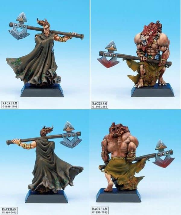 Danu Warrior and Spasm Warrior 1-631