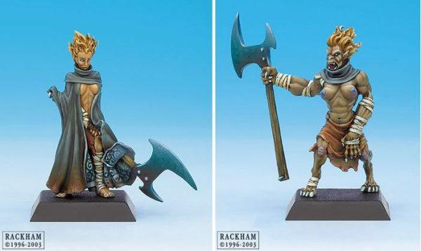 Danu Warrior and Spasm Warrior 3-632