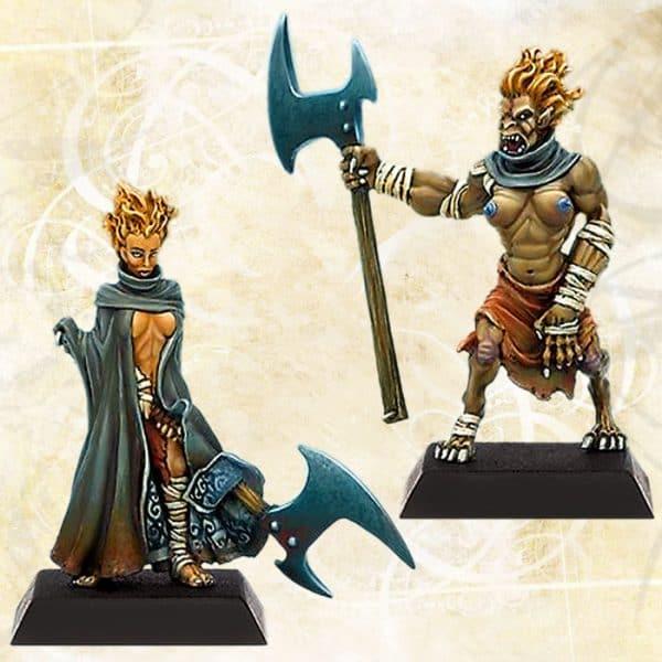 Danu Warrior and Spasm Warrior 3-0
