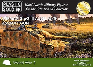 15mm Easy Assembly German Stug III F8/G AUSF Assault Gun-0