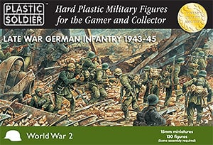 15mm Late War German Infantry 1943-45-0