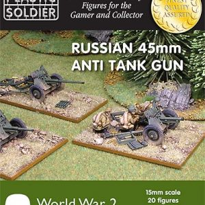 15mm Russian 45mm anti tank gun-0