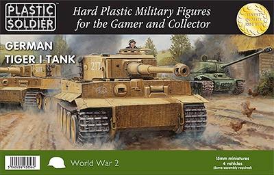 15mm Easy Assembly German Tiger I Tank-0