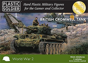 15mm WW2 British Cromwell Tank-0