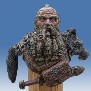 Dwarf WolfHunter Bust-0