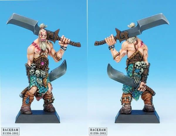 Giant Barbarian with Sword 1-6211