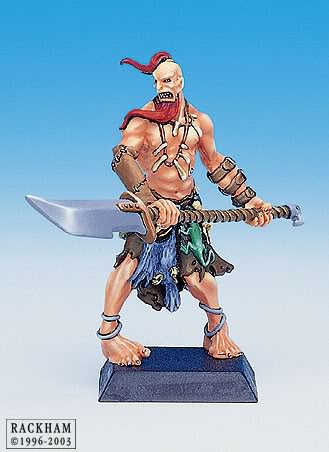 Giant Barbarian with Halberd 2-6697