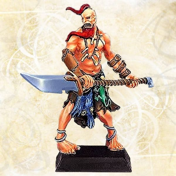 Giant Barbarian with Halberd 2-0