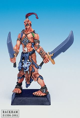 Giant Barbarian with Sword 2-6713