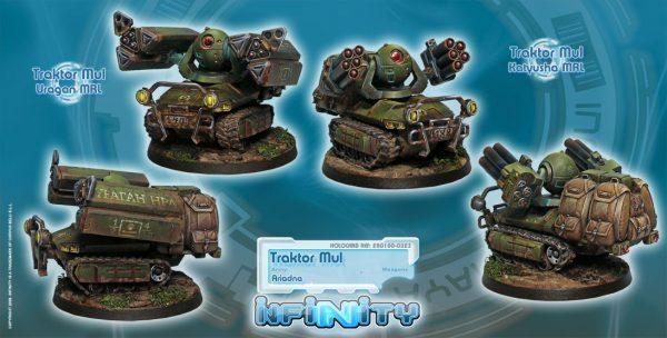 Traktor Muls. Regiment of Artillery and Support-0