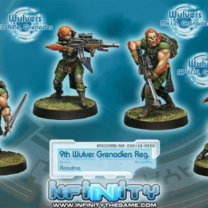 9TH WULVER GRENADIERS REG.-0