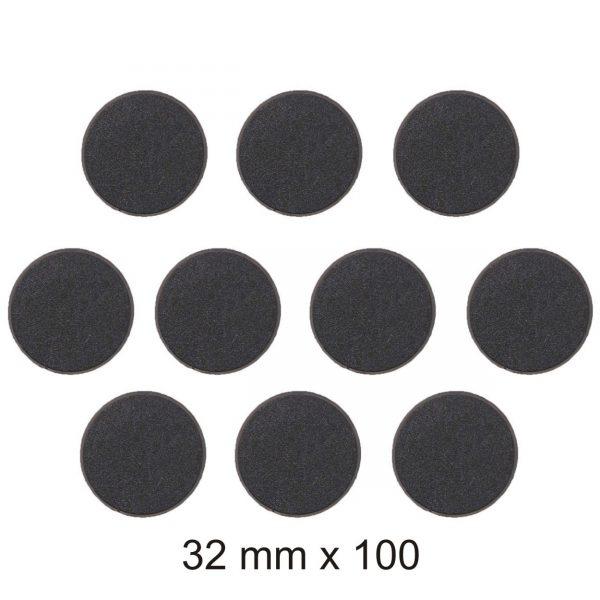 32mm Round Bases х 100-0