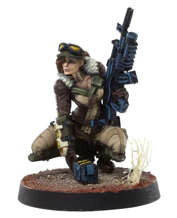 Hunzakuts (Rifle + Light Grenade Launcher)-0