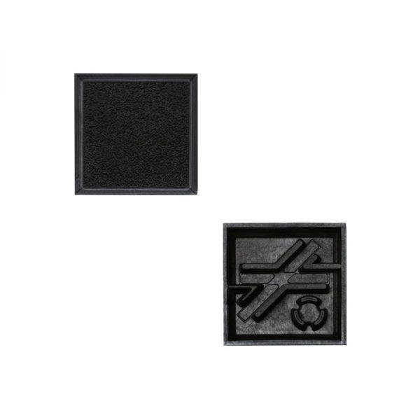 25mm Square Base-0