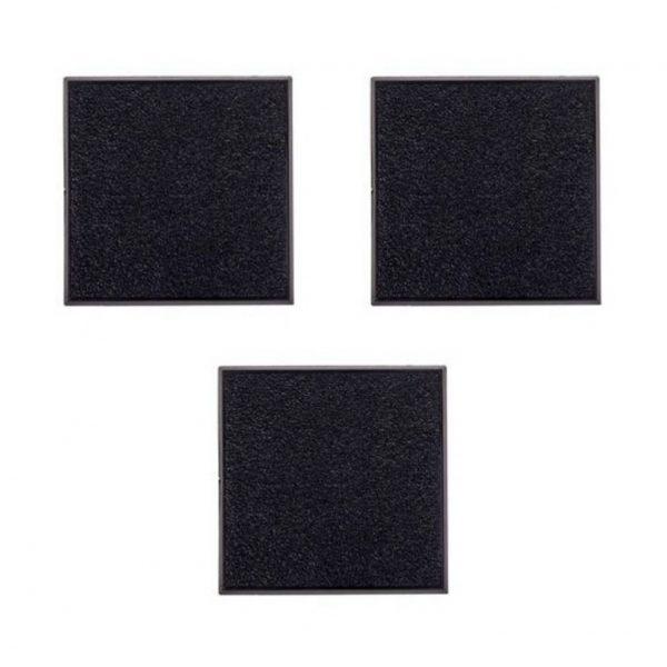 50mm Square Base х 3-0