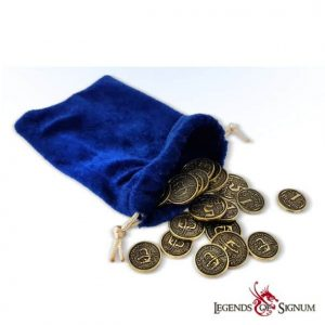 Purse with Dragon coins-0