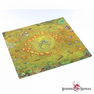 """Battle mat of Legends of Signum """"Ruins of the Old World-0"""