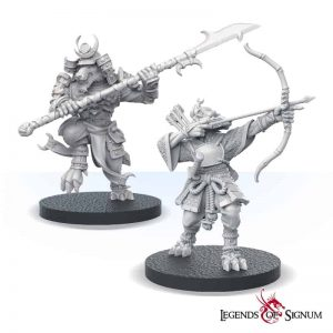 Samurai Wolves - set-12558