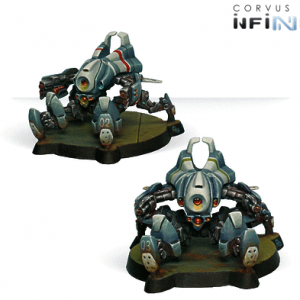 Armbots Bulleteer Unit Box (Spitfire, Hvy Shotgun)-0