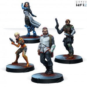 Agents of the Human Sphere. RPG Characters Set-0