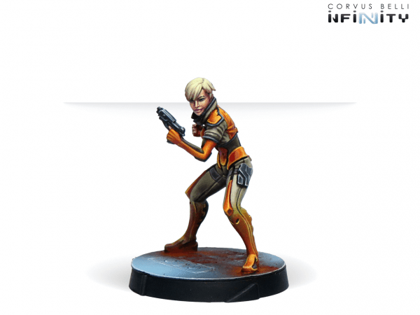 Agents of the Human Sphere. RPG Characters Set-11118