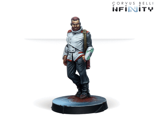 Agents of the Human Sphere. RPG Characters Set-11117
