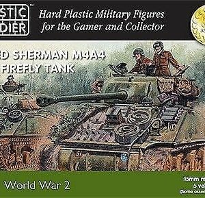 15mm Sherman M4A4 & Firefly Tank-0