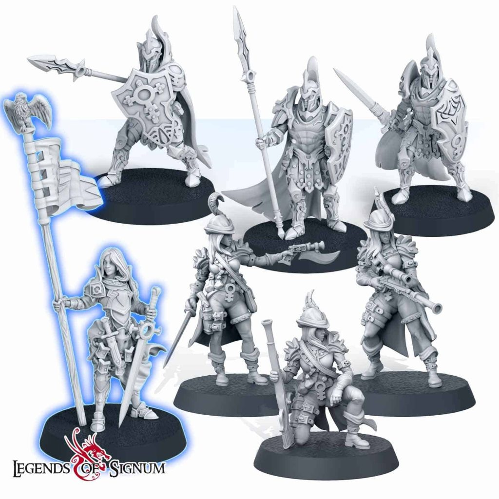 Imperial Legionary – set-0