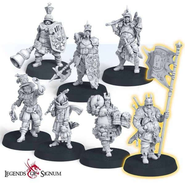 """Damn bastards"" – Militia Set-0"
