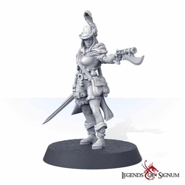 Siliya the Emperor's Jaegers Shooter-12098