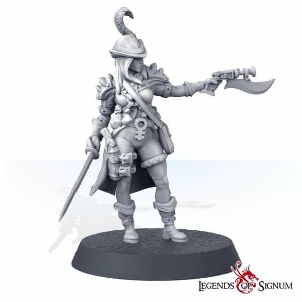 Siliya the Emperor's Jaegers Shooter-0