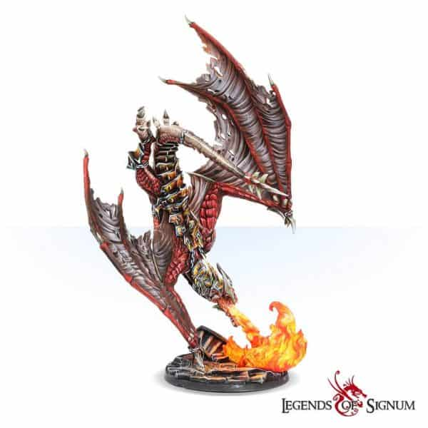 Paraxis the Scarlet Dragon 330mm.-12609