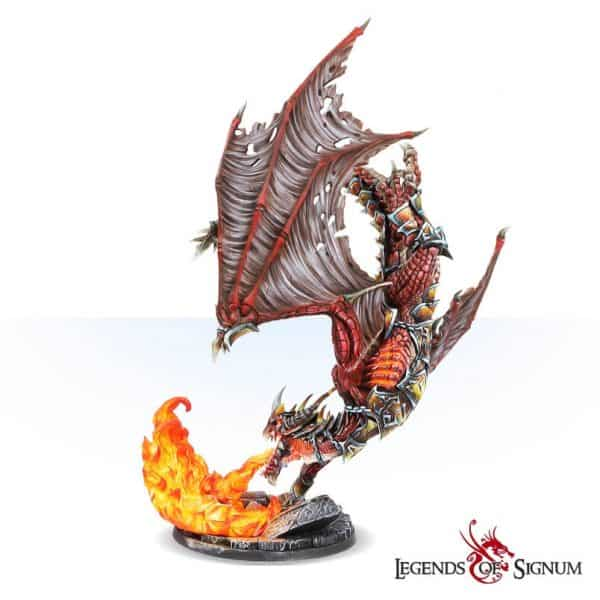 Paraxis the Scarlet Dragon 330mm.-12611