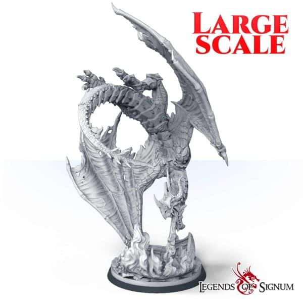 Paraxis the Scarlet Dragon 330mm.-0