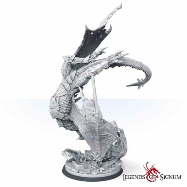 Paraxis the Scarlet Dragon 330mm.-12615
