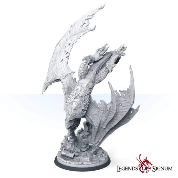 Paraxis the Scarlet Dragon 330mm.-12614