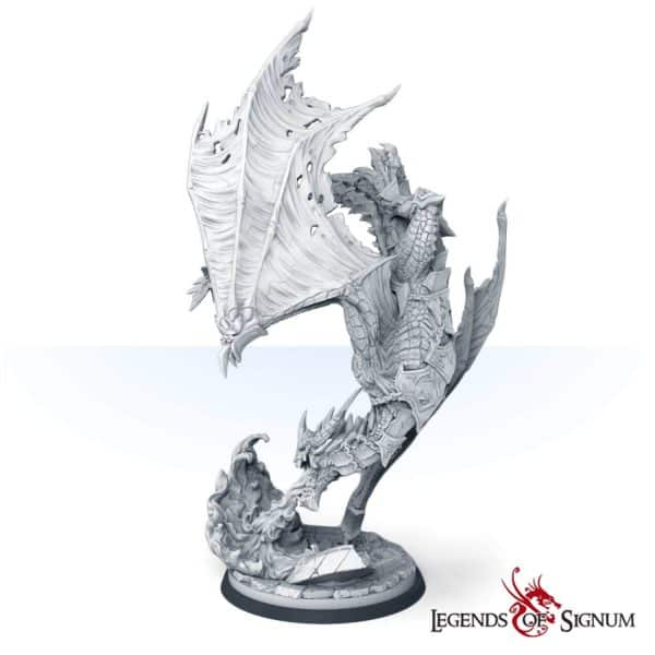 Paraxis the Scarlet Dragon 330mm.-12616