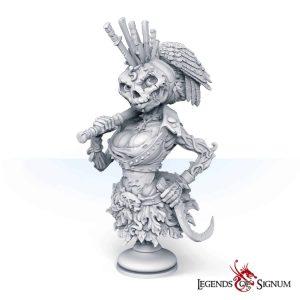 Bust of Rebecca Pumpkinhead-0