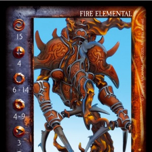 Fire Elemental And Idabaoth
