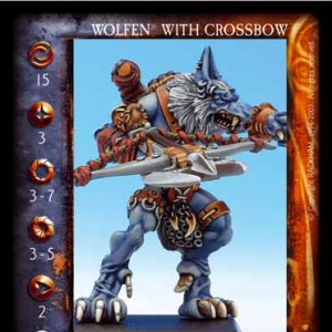 Wolfen With Crossbow